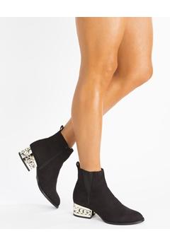 Truffle Boots, Barbara Svart Bubbleroom.se