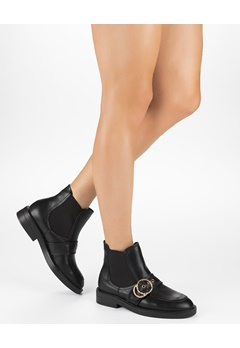 Truffle Boots, Olga Svart Bubbleroom.se