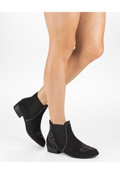 Truffle Chelsea Boots, Evelyn Svart Bubbleroom.se