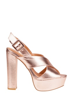 Truffle Festskor, Julia23 Rose gold Bubbleroom.se