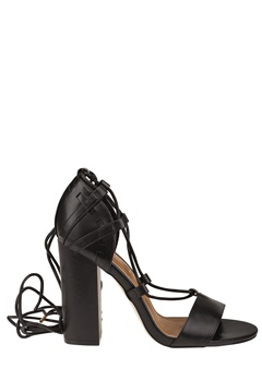 Truffle Lace Up Sandaletter, Vela47 Svart Bubbleroom.no