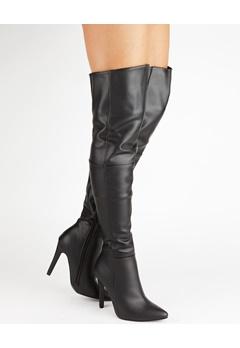 Truffle Overknee støvler, Faye13 Sort Bubbleroom.dk