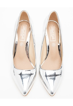 Truffle Pumps, Becca Silver Bubbleroom.no