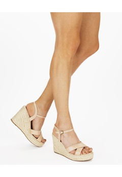 Truffle Wedge sandals, Neema Beige Bubbleroom.eu