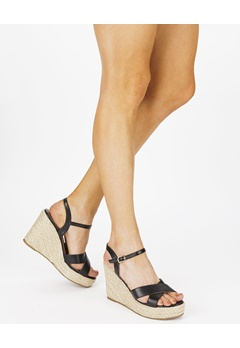 Truffle Wedge sandals, Neema Black Bubbleroom.eu