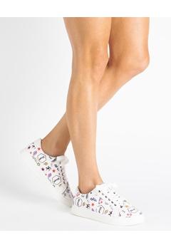 Truffle Sneakers, Emoji Vit Bubbleroom.se
