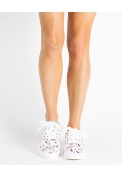Truffle Sneakers, Emoji Hvit Bubbleroom.no