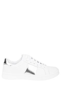 Truffle Sneakers, Strut10 Vit och silver Bubbleroom.se