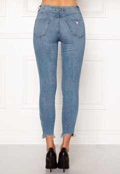 Guess 1981 Zip Pants Marigarde Bubbleroom.se