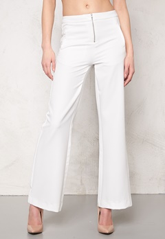2nd One Cara 038 Pants Dressed White Bubbleroom.no