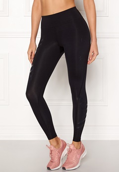 2XU Bonded Compression Tights Blk/Pos Bubbleroom.se