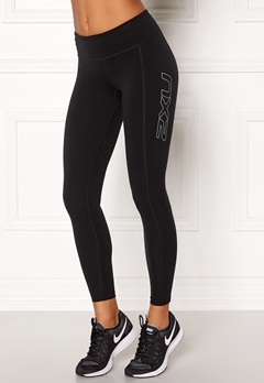 2XU Fitness Compression Tight Black/silver Bubbleroom.se