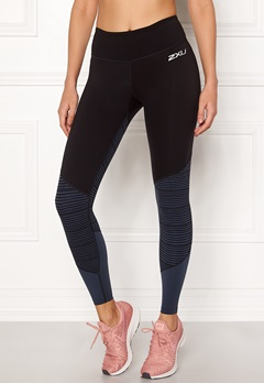 2XU Fitness MidRise Tights Blk/Oss Bubbleroom.se