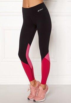 2XU Fitness Stride Comp Tight Black/Fuchsia Bubbleroom.se