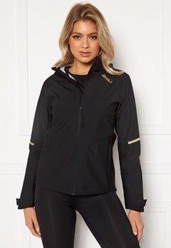 2XU GHST WP Jacket BLK/GRF Black/Gold R Bubbleroom.se