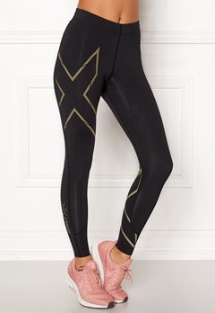 2XU MCS Run Compression Tight Black/Gold Bubbleroom.se