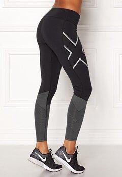 2XU Mid-Rise Reflect Tights Black/silver Bubbleroom.se