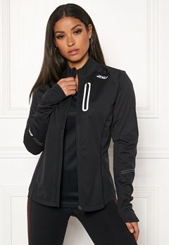 2XU Wind Defence Membrane Jacket Black/black Bubbleroom.se