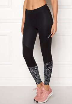 2XU Wind Defence Tights Blk/Sgr Bubbleroom.se