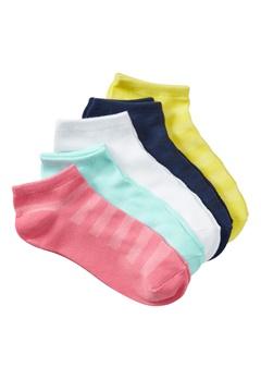 Röhnisch 5-pack Sport Socks Multi Colour Bubbleroom.no