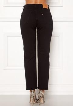 LEVI'S 501 Crop Jeans 0085 Black Heart Bubbleroom.se
