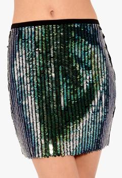 Y.A.S May Sequin Skirt Musta Bubbleroom.fi