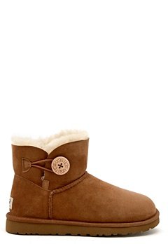 UGG Australia Mini Baily Button Chestnut Bubbleroom.se