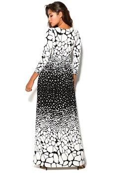 Chiara Forthi Resort Dress Black/Offwhite Bubbleroom.no