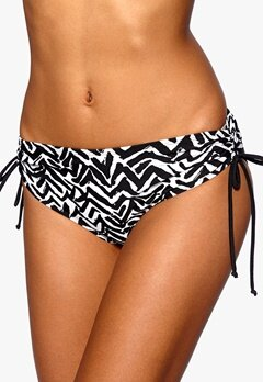 BEACHWAVE Bikini briefs Black/White Bubbleroom.eu