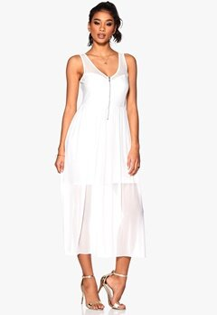 TrulyMine Dress White Bubbleroom.eu
