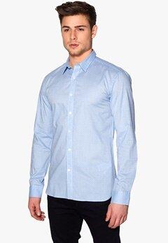 SELECTED HOMME Zag Shirt Light Blue Bubbleroom.se