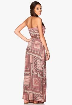 VILA Tanny Long Dress Apricot Blush Bubbleroom.no