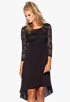 Happy Holly Dress Black Bubbleroom.eu