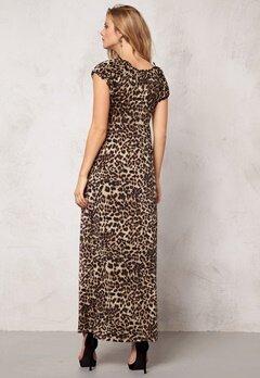 Happy Holly Maksikjole Leopard Bubbleroom.no