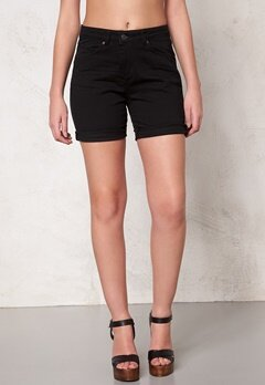 OBJECT Ally Canvas Shorts Black Bubbleroom.fi