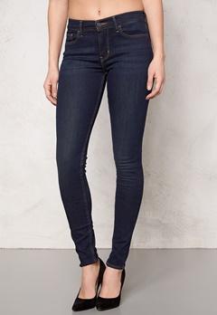 LEVI'S Super Skinny Jeans Denim Deepend 0007 Bubbleroom.no