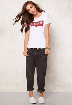 LEVI'S The Perfect Tee 0235 White Bubbleroom.fi