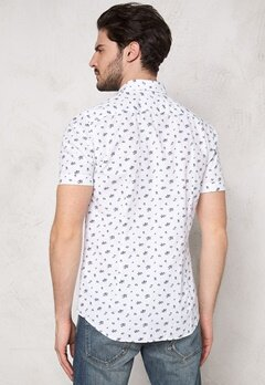 Henri Lloyd Lund Fitted SS Shirt Bright White Bubbleroom.se