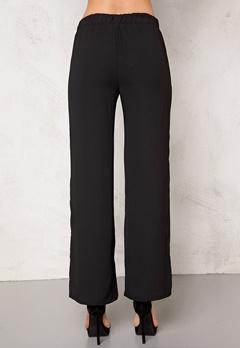 VILA Provide wide pants Black Bubbleroom.no