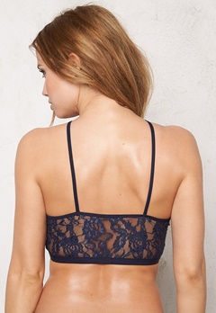 Pieces Gela Lace Bra Navy Blazer Bubbleroom.fi