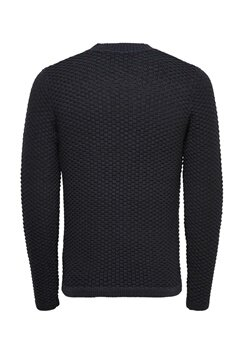 ONLY & SONS Doc Crew Neck Knit Dark Navy Bubbleroom.se