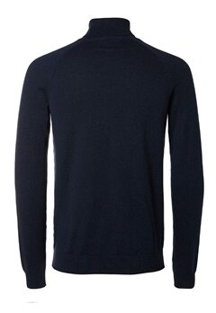 SELECTED HOMME Adam Roll Neck Dark Sapphire Bubbleroom.se