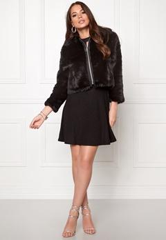 CHEAP MONDAY Pace Fur Jacket Black Bubbleroom.se