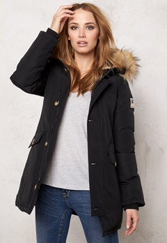 Svea Miss Smith Jacket Black Bubbleroom.se
