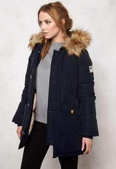 Svea Miss Smith Jacket Navy Bubbleroom.se