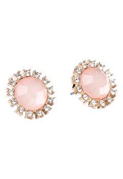 Pieces Pinna earstuds Misty Rose Bubbleroom.se