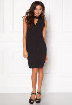 VILA Tana s/l dress Black Bubbleroom.fi