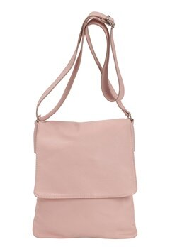 Mixed from Italy Cross Body Leather Bag Pink Bubbleroom.se