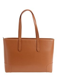 Mixed from Italy Leather Shopper Camel Bubbleroom.se