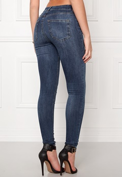 Pieces Five Delly Jeans Medium Blue Denim Bubbleroom.se
